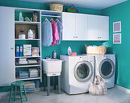 laundry room custom closets Jacksonville