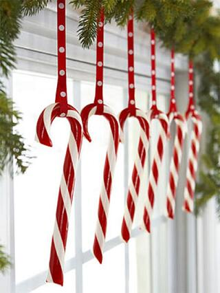 dangling candy canes