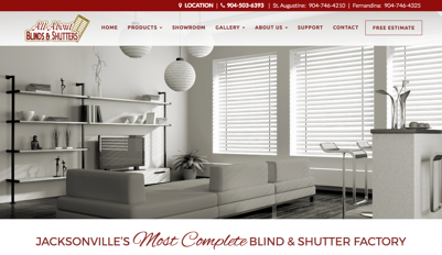 All About Blinds and Shutters