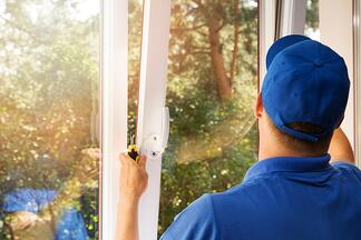 Installing bedroom window treatments