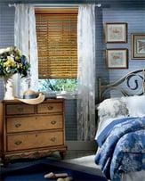 bedroom window treatments