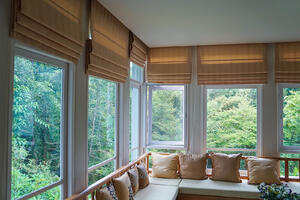 window treatments, shades, improvements,