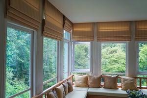 window treatments, shades, improvements,
