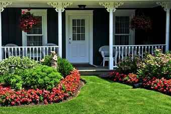 bigstock-Front-Yard-Of-A-House-3894520