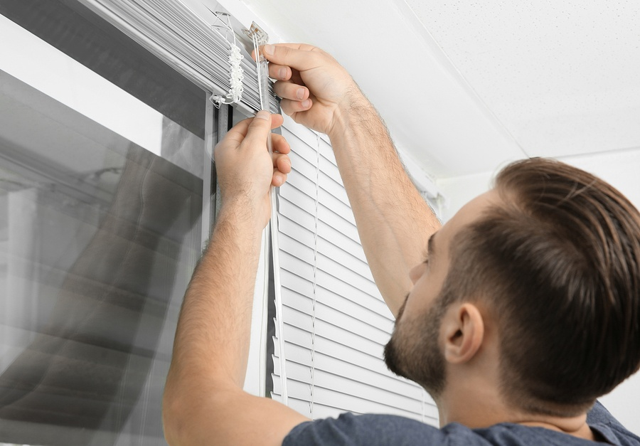 Interior Decorating Installing Blinds