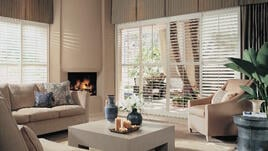 Custom window treatments can create a sense of openness in your home.