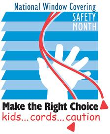 national window cord safety month